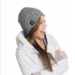 P'tula Aurora Knit - Frosted Grey, Mid Slouch